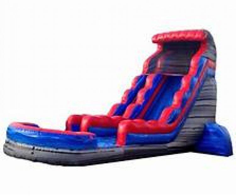 22' Rocky Marble Slide