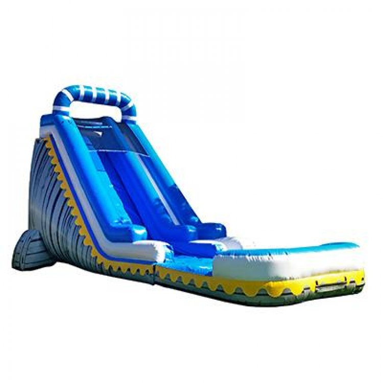 22' Skyline waterslide w/pool