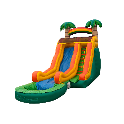 16' Tropical Slide w Pool