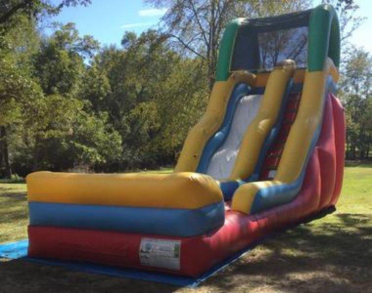 19' Bump and Run dry slide