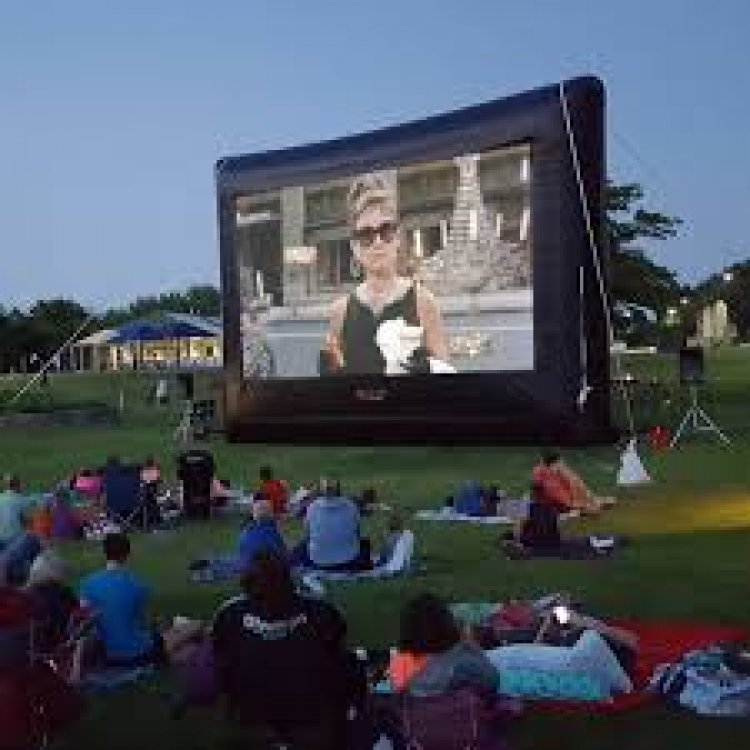 Inflatable Movie Screen Complete