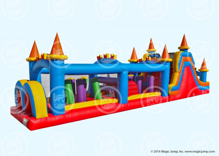 50' Castle Obstacle Course