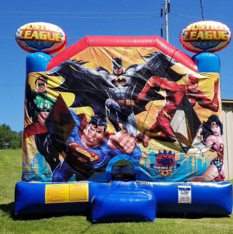 Justice League Bouncer Slide Combo dry
