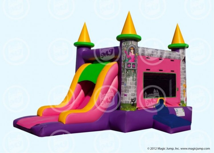 Princess Bouncer slide Combo dry